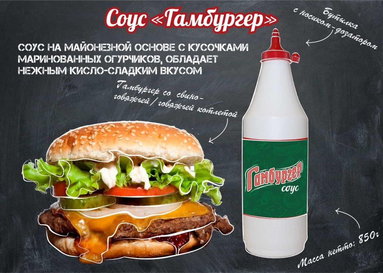 Рецепт соуса для бургера в домашних условиях с фото