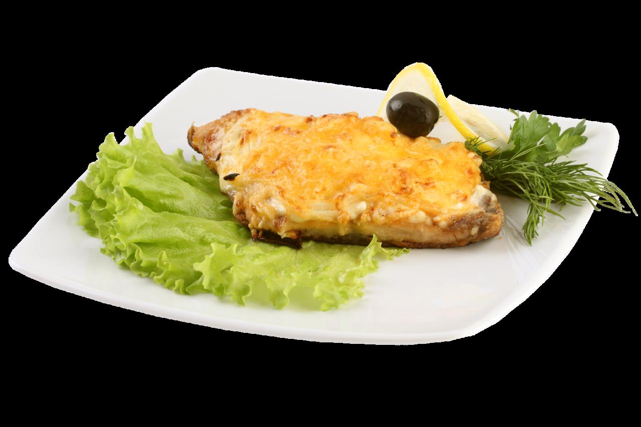 Рыба запеченная под сыром